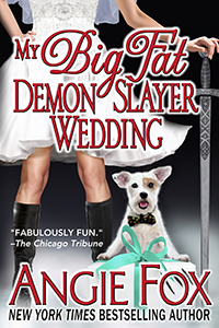 Angie Fox book cover